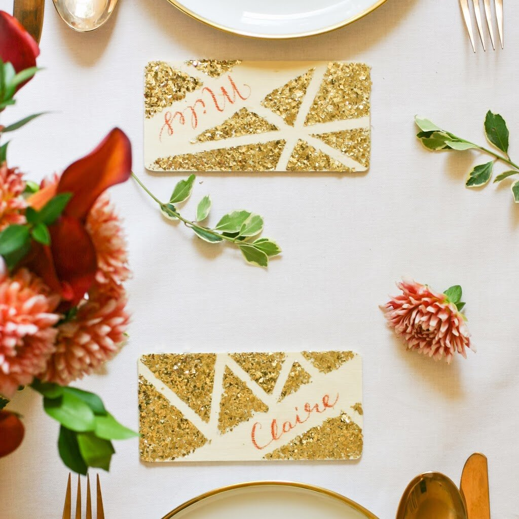 5 Diy Place Cards To Dress Up Your Thanksgiving Table