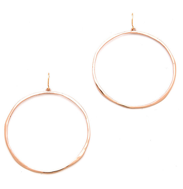 Gorjana G-Ring Earrings