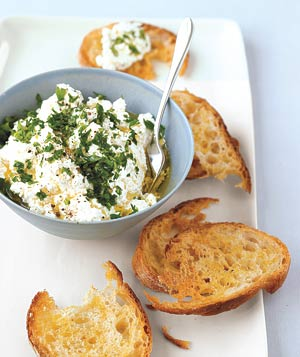 Ricotta and Herb Spread