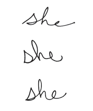 Handwriting anaylsis if your letters slant