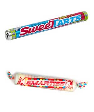Smarties and SweeTarts