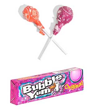 Bubble Yum or Tootsie Pop