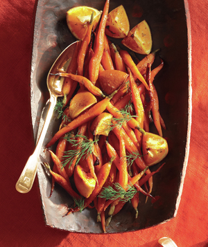 Honeyed Carrots and Oranges
