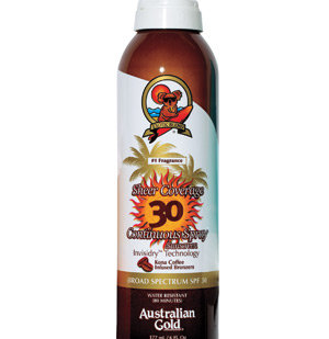 Australian Gold Sheer Coverage Continuous Spray SPF 30