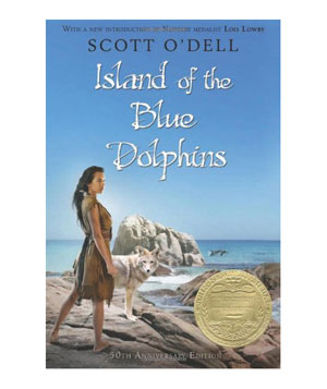 Island of the Blue Dolphins, by Scott O'Dell