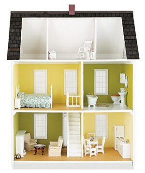 Interior Of A Dollhouse