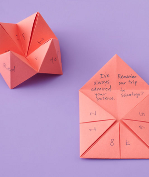 Fortune teller mother's day cards