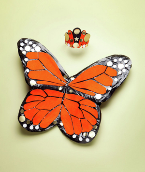 How to make a butterfly costume
