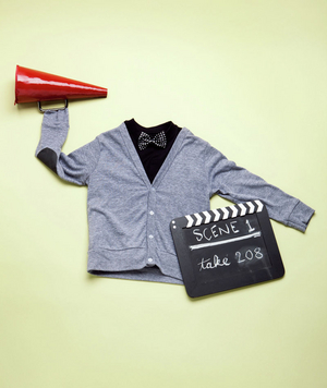 How to make a movie director costume