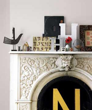 Decorate Your Home With Letters And Numbers