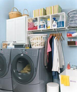 c60215b34 A clean and organized laundry room