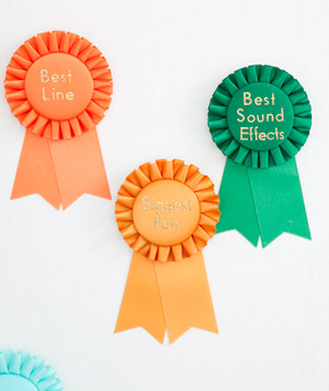 Best in show ribbons