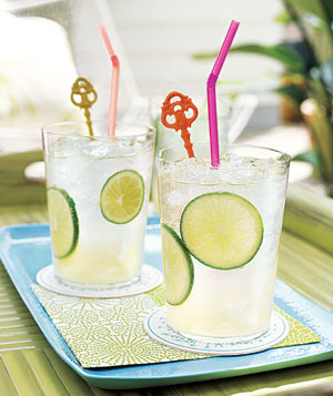 Lime Spritzers