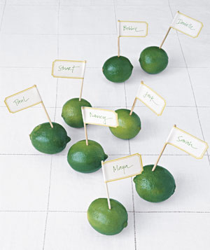 Limes as place holders