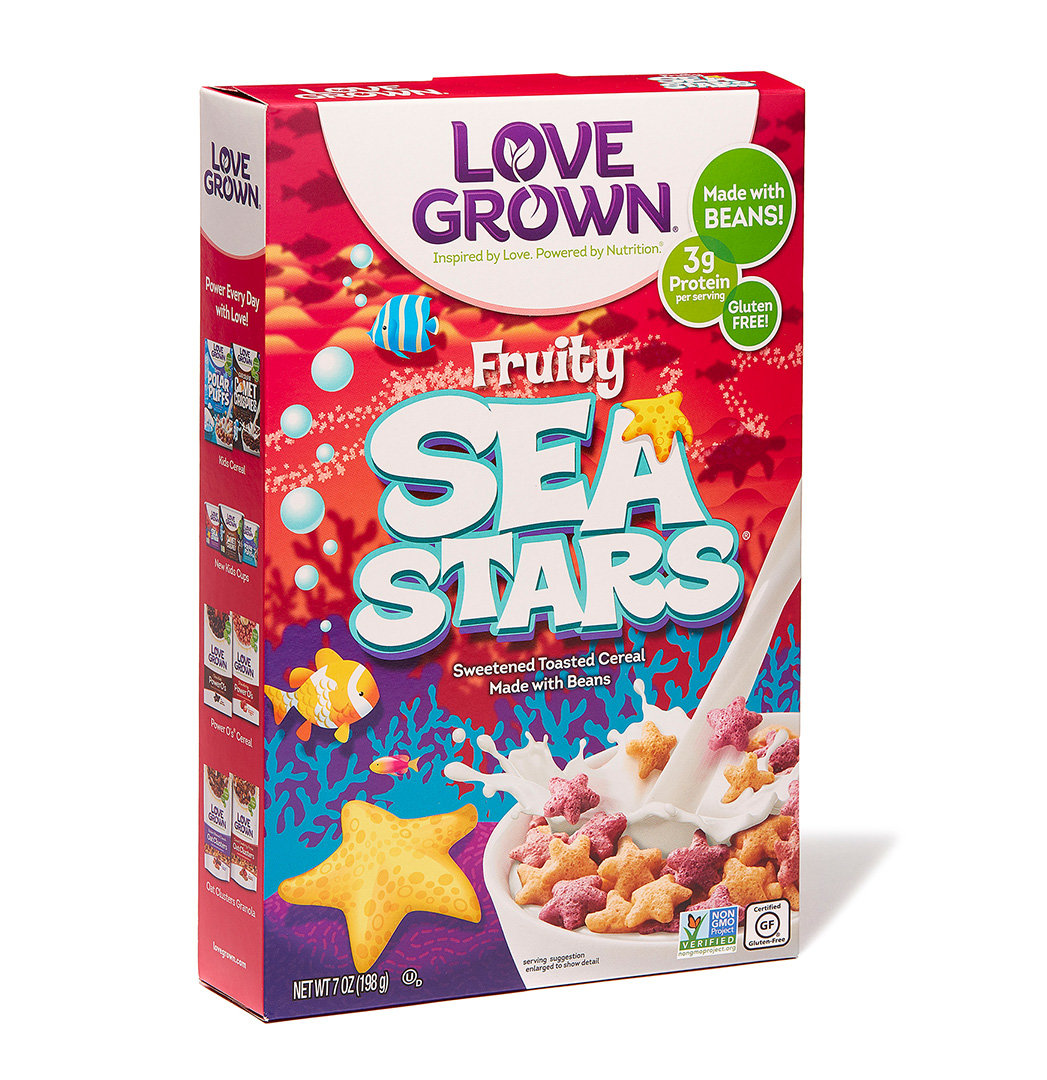 Best For Kids: Love Grown Fruity Sea Stars