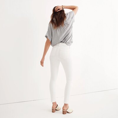 af5621fff7 I Get Compliments Every Time I Wear These Insanely Comfortable White Jeans