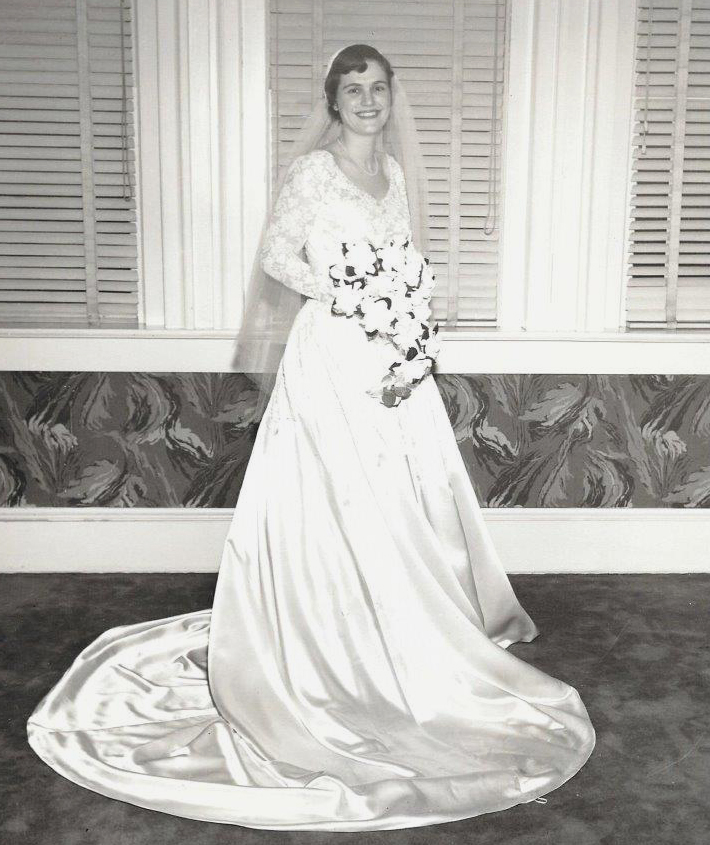 Story Of A Wedding Dress Real Simple