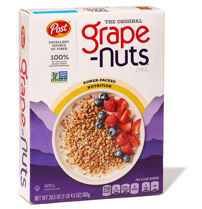 Best Fiber: Post Grape-Nuts