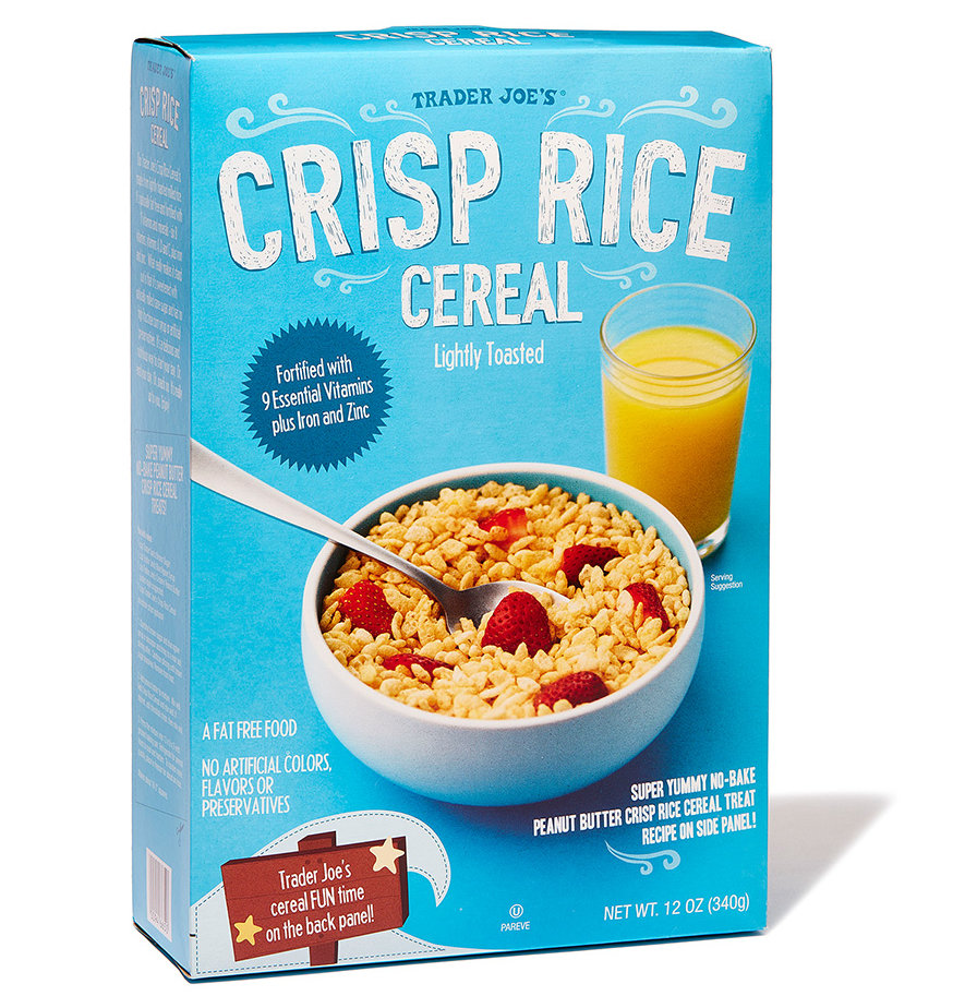 Best Puffed: Trader Joe's Crisp Rice Cereal