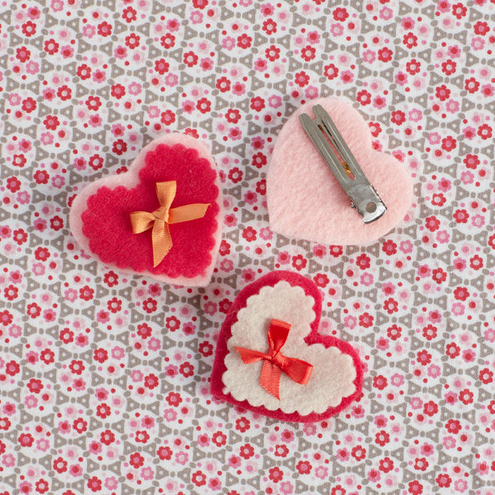 Valentine's Day crafts: How to Make a Sweetheart Hair Pin