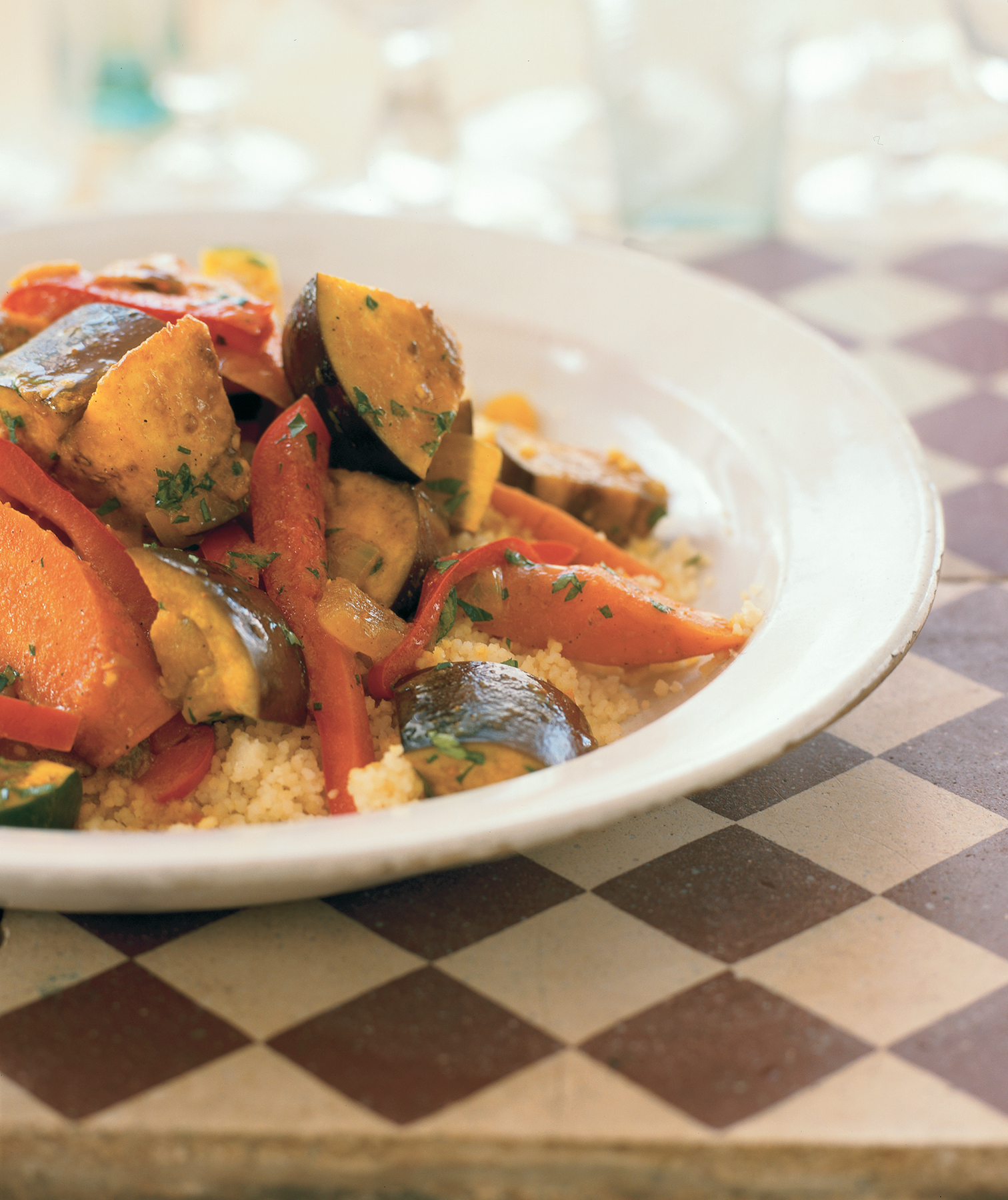 Spicy Vegetable Tagine With Couscous