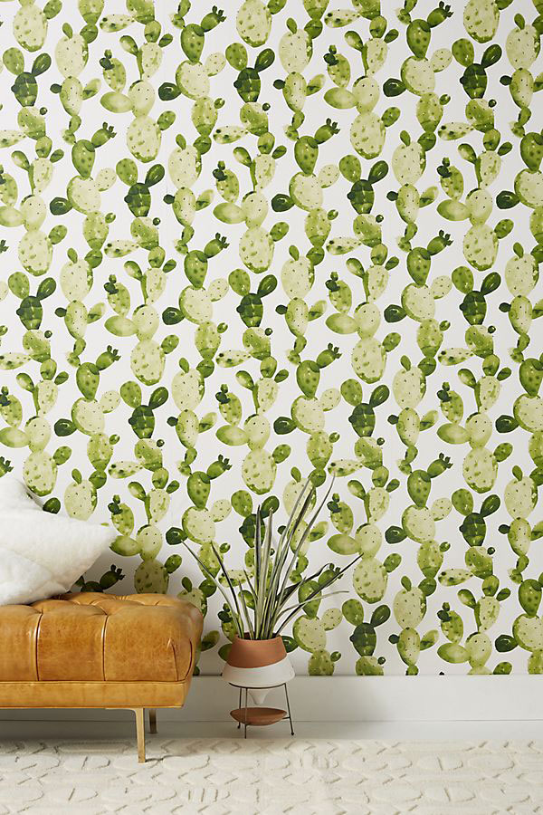 Wallpaper for Walls Ghosted Cactus Wallpaper