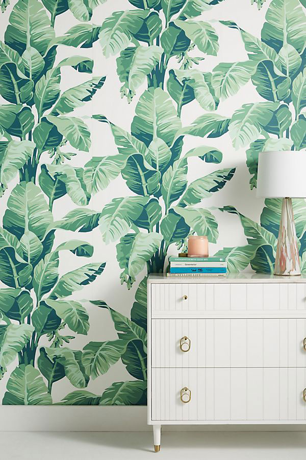 Wallpaper for Walls Nathan Turner Pacifico Palm Wallpaper