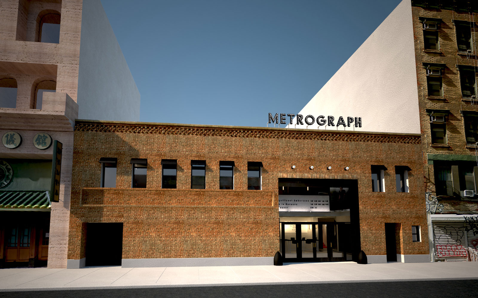 Metrograph Theater New York City