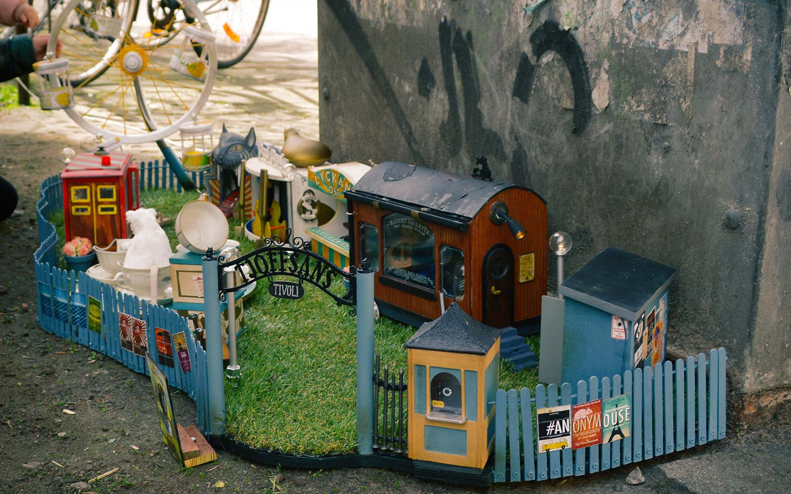Amusement park for mice in Malmo Sweden