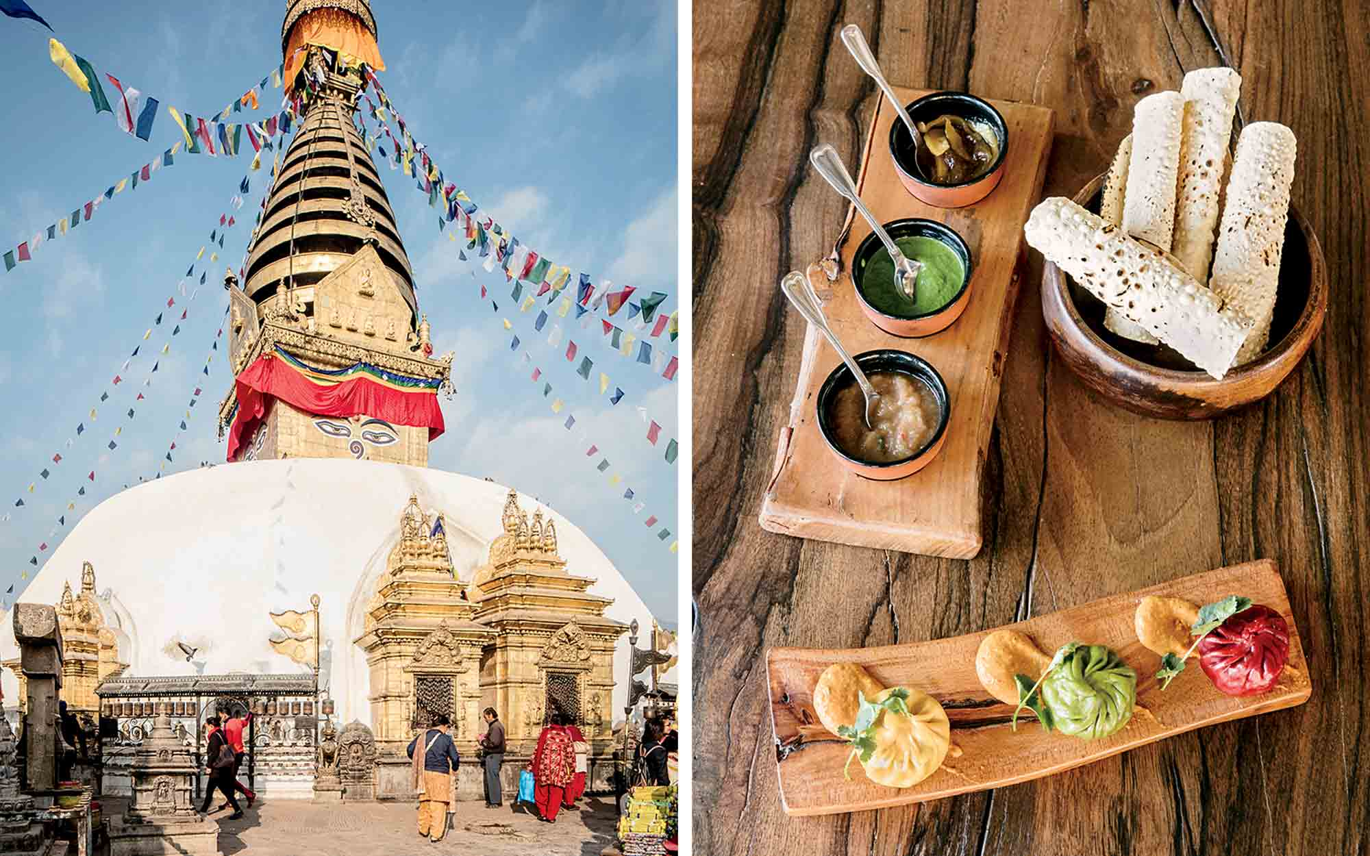 Nepal Temples and Food