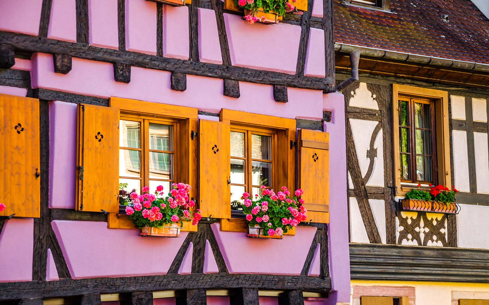 Kaysersberg is a picturesque medieval village located on the  Alsace Wine Route