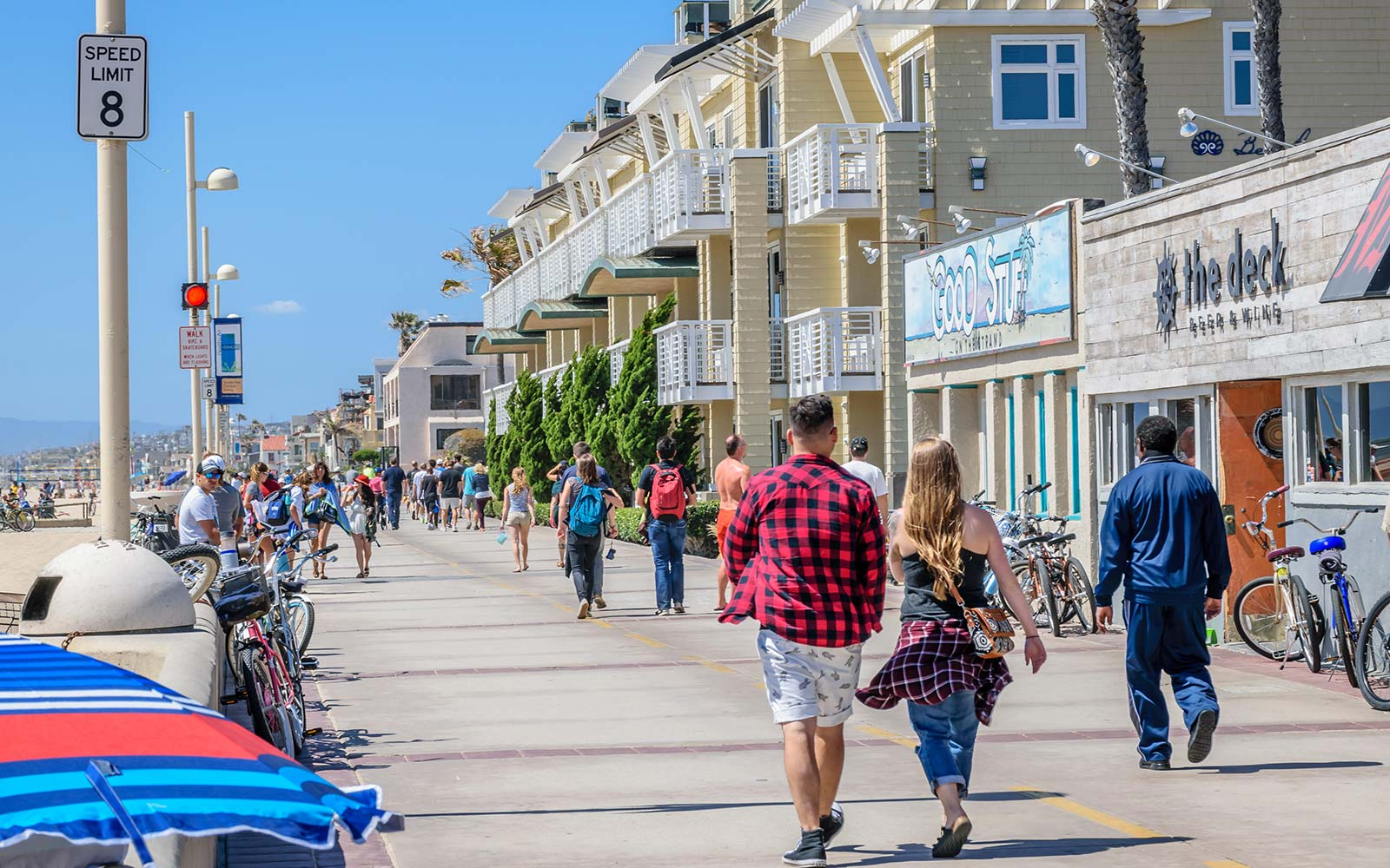 Hermosa Beach California The Strand