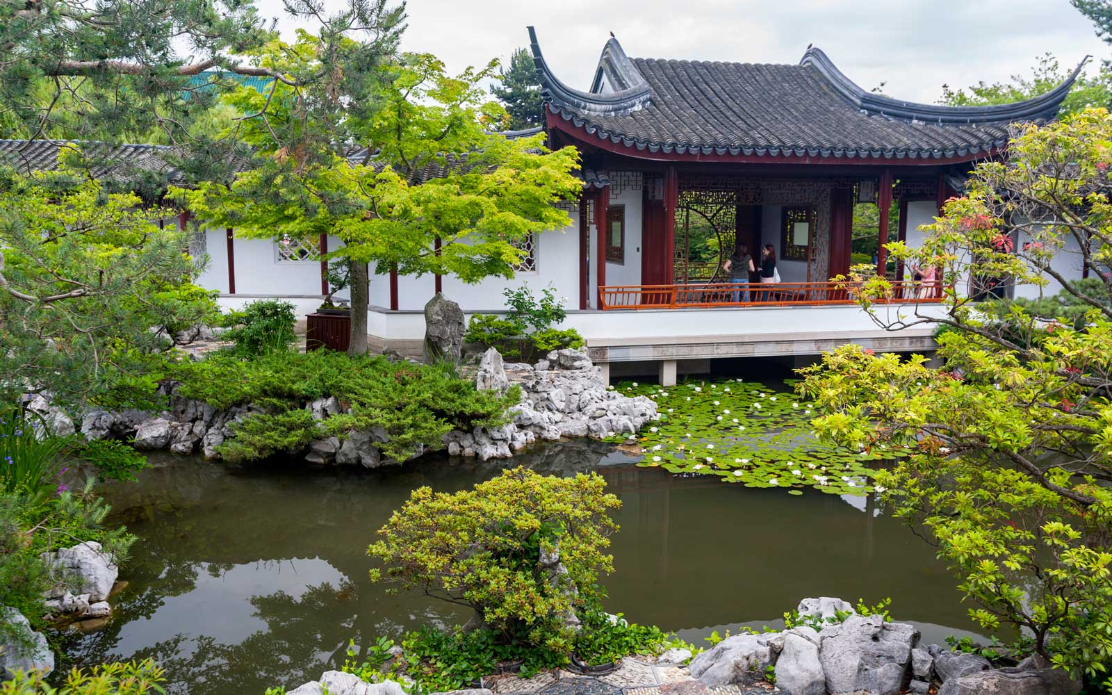 Chinese Gardens in Vancouver
