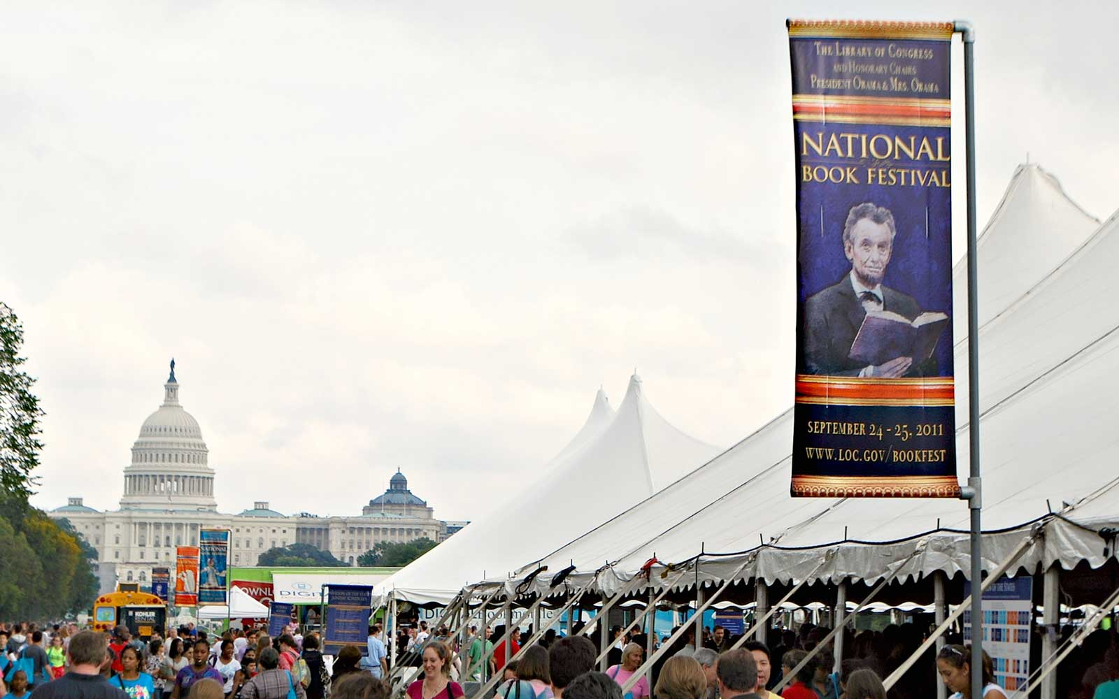 National Book Festival on the National Mall