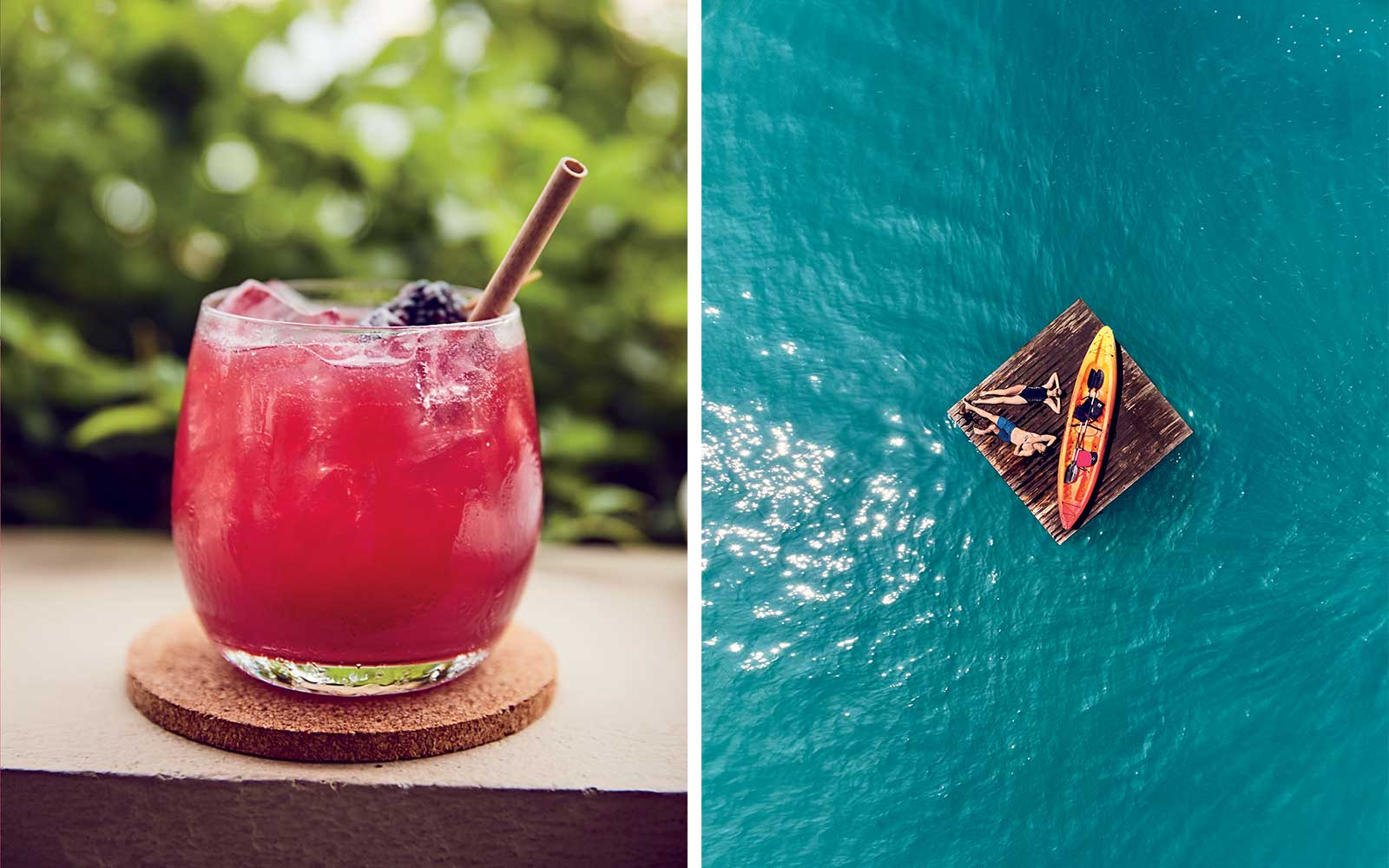 Cocktails and Swimming in Costa Rica