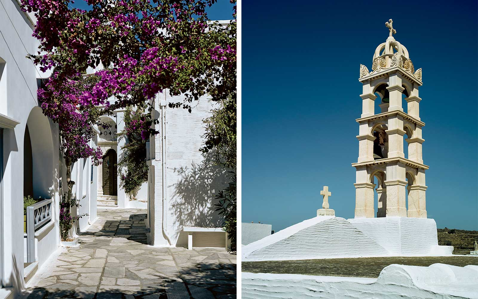 Tinos Island Churches and Marble in Greece