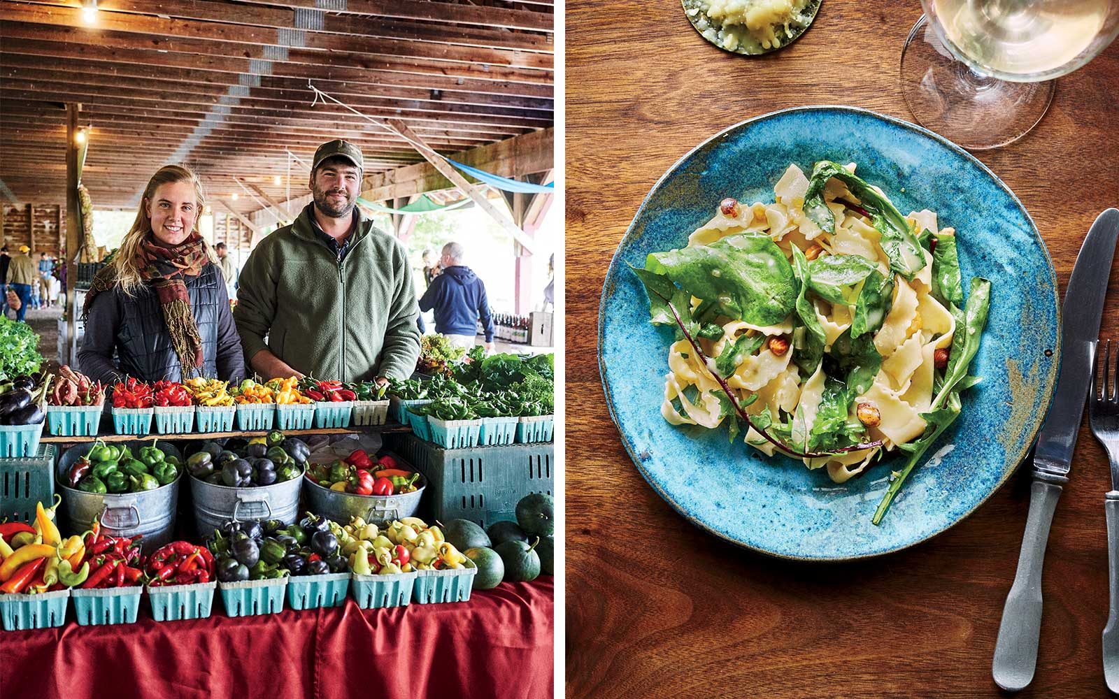 Markets and Restaurants in Upstate New York