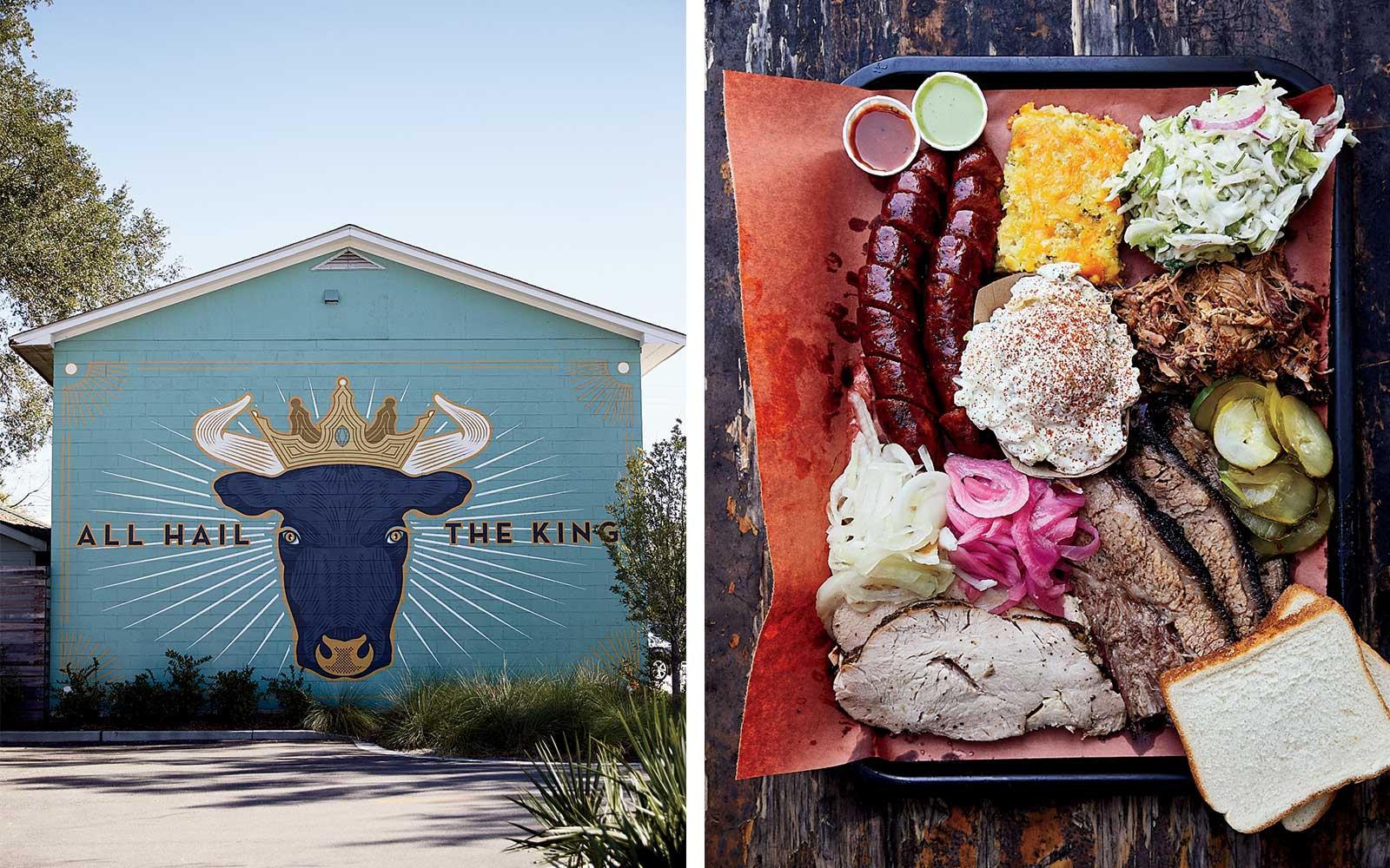 Lewis BBQ serves Texas style barbecue in Charleston, SC