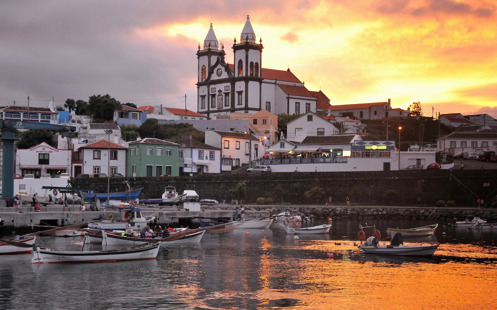 church in the Azores