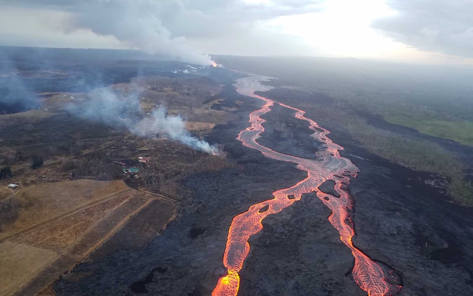 Laws flows from Kilauea eruption