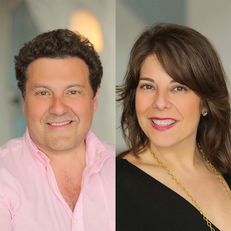 Harlan DeBell and Kara Bebell, Travel + Leisure A-List Travel Agents specializing in honeymoon travel
