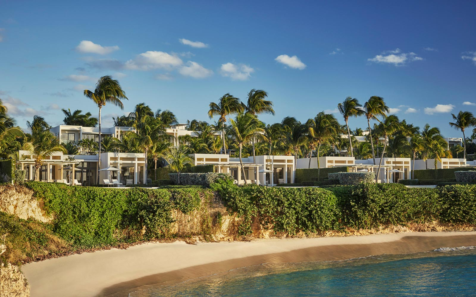 Exterior of the Four Seasons Anguilla