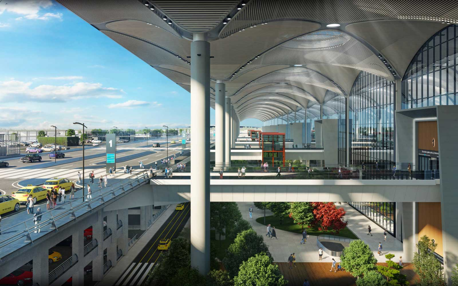 An airport city will also provide shopping complexes, housing, and more.