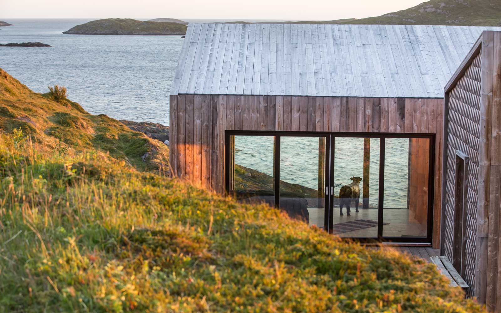 Cabin accommodation at The Arctic Hideaway