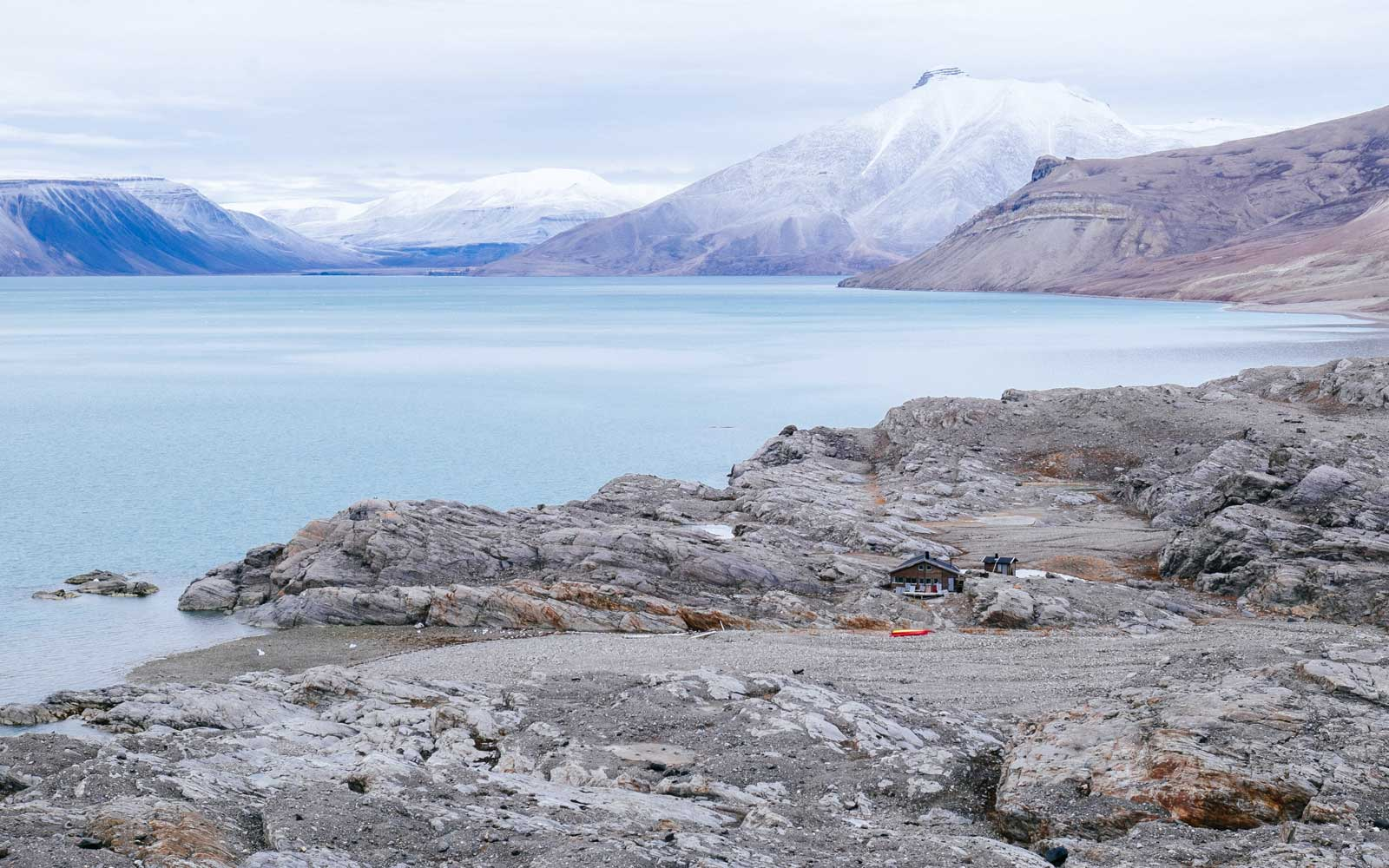 Basecamp Explorer adventure by Off the Map travel in Svalbard