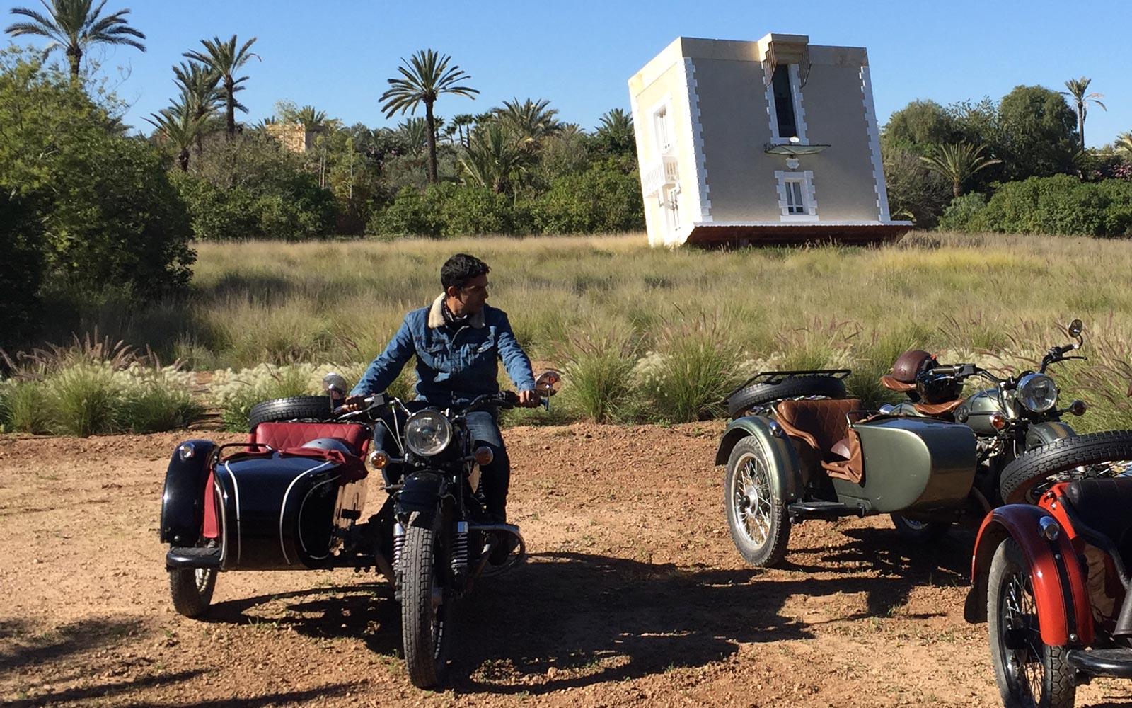 Sidecar Tour with Thomas in Marrakech