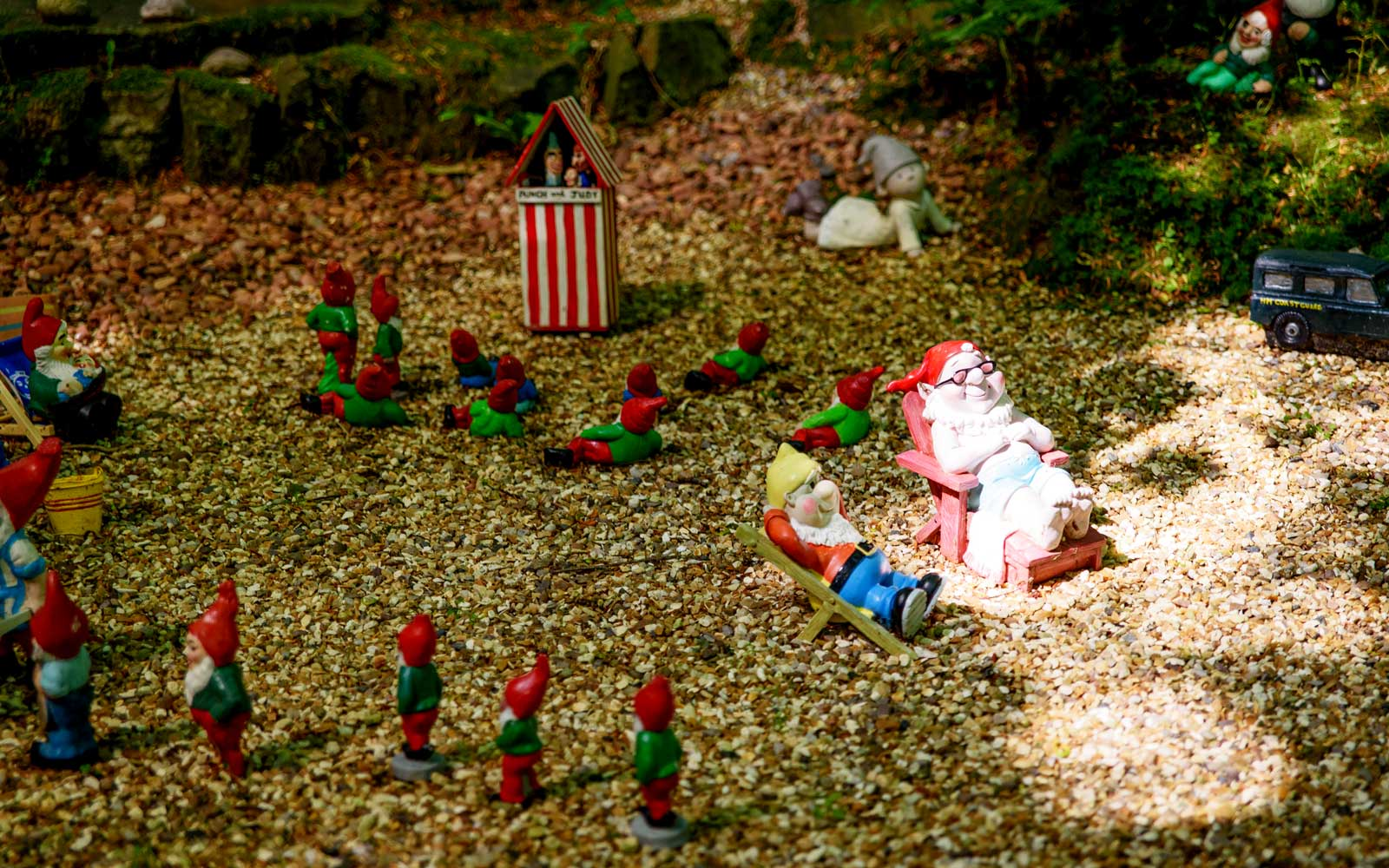 Gnome Reserve and Flower Garden
