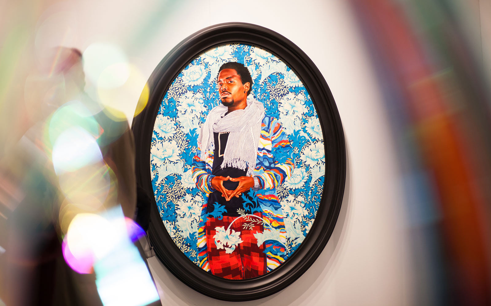 Kehinde Wiley at Sean Kelly Gallery, The Armory Show, New York