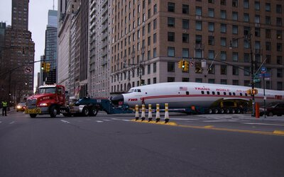This Vintage TWA Airplane Will Soon Be Transformed Into a