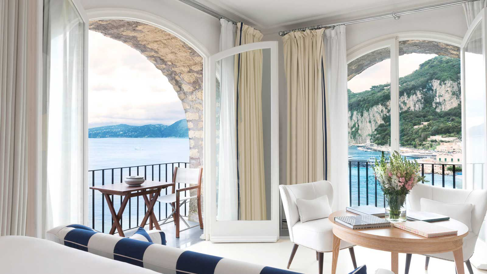 Room at The JK Place Hotel in Capri